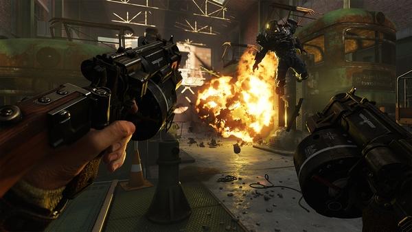 Тормозит Wolfenstein II: The New Colossus