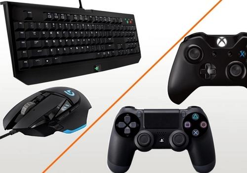 мышь и клавиатура против геймпада
