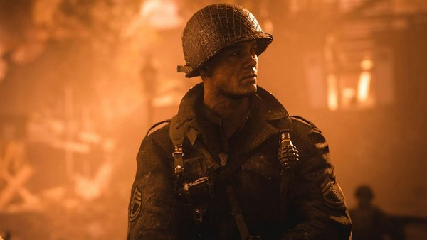 Вылетает Call of Duty: WW2
