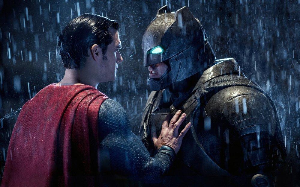 Низкая оценка у Бэтмен против Супермена