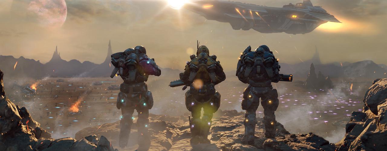Системные требования игры PlanetSide Arena