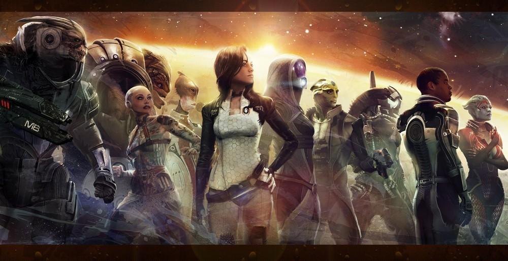Эмоции в концовке Mass Effect 2