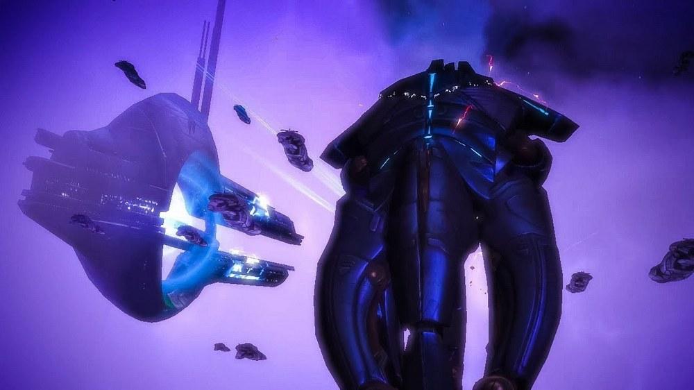 Эмоции в концовке Mass Effect