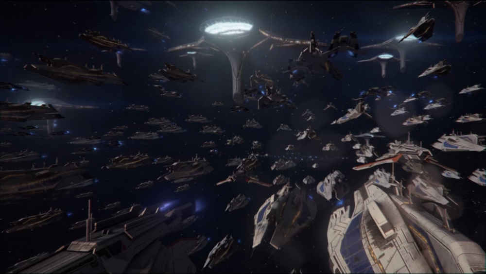 Эмоции в концовке Mass Effect  3