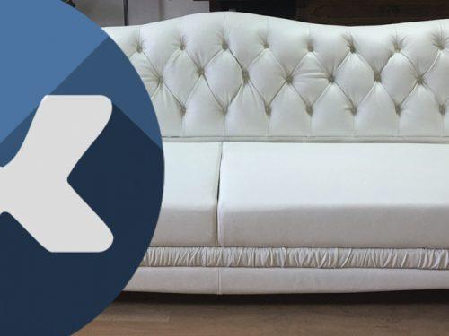 Кейс ВК: Перетяжка мягкой мебели
