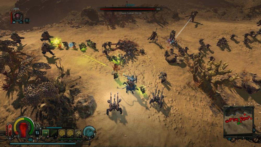 Вылетает Warhammer 40,000: Inquisitor - Prophecy