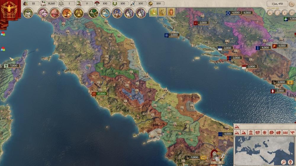 Imperator: Rome вылетает