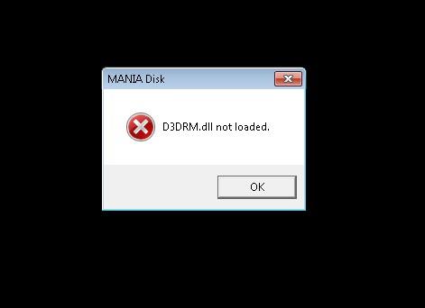 Отсутствует d3drm.dll