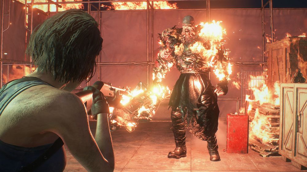 Resident Evil 3 Remake вылетает
