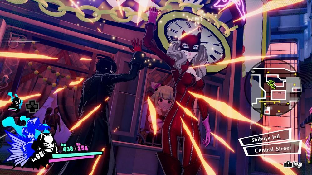 Persona 5 Strikers тормозит
